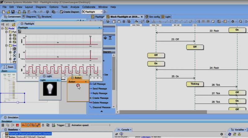 SysML Simulation